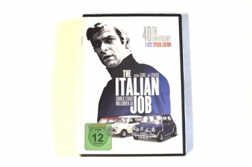 DVD: THE ITALIEN JOB (40TH ANNIVERSARY)