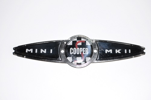 Jacksons Mini Car Parts Boot Badge Austinmorris Cooper S Mk2